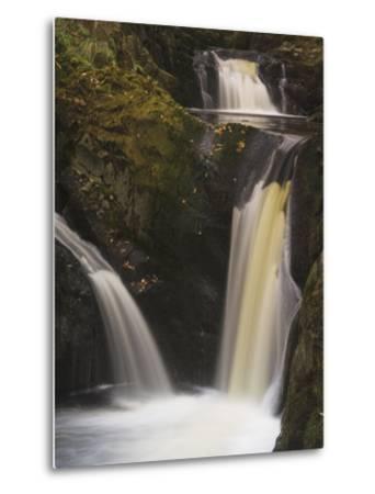 Pecca Falls, Ingleton Waterfalls Walk, Yorkshire Dales National Park, Yorkshire-Neale Clarke-Metal Print