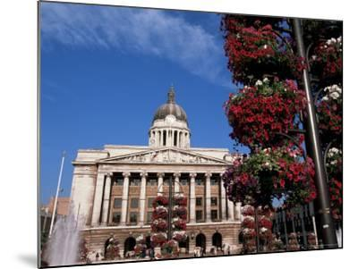 Council House, Market Square, Nottingham, Nottinghamshire, England, United Kingdom-Neale Clarke-Mounted Photographic Print