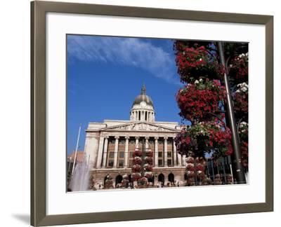 Council House, Market Square, Nottingham, Nottinghamshire, England, United Kingdom-Neale Clarke-Framed Photographic Print