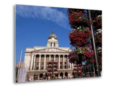 Council House, Market Square, Nottingham, Nottinghamshire, England, United Kingdom-Neale Clarke-Metal Print