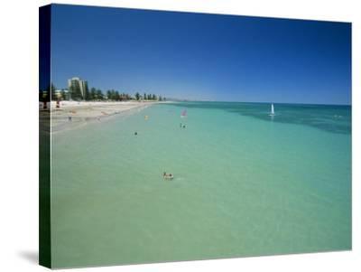 Glenelg Beach, Adelaide, South Australia, Australia-Neale Clarke-Stretched Canvas Print