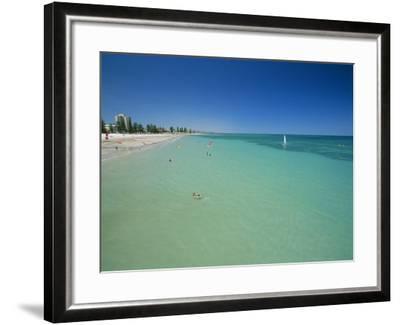 Glenelg Beach, Adelaide, South Australia, Australia-Neale Clarke-Framed Photographic Print