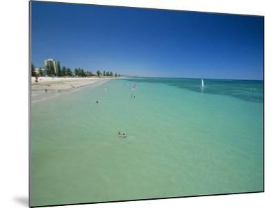 Glenelg Beach, Adelaide, South Australia, Australia-Neale Clarke-Mounted Photographic Print