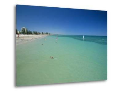 Glenelg Beach, Adelaide, South Australia, Australia-Neale Clarke-Metal Print