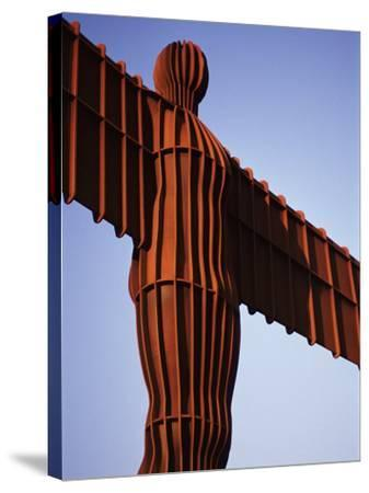 The Angel of the North, Newcastle Upon Tyne, Tyne and Wear, England, United Kingdom-James Emmerson-Stretched Canvas Print