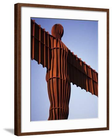The Angel of the North, Newcastle Upon Tyne, Tyne and Wear, England, United Kingdom-James Emmerson-Framed Photographic Print