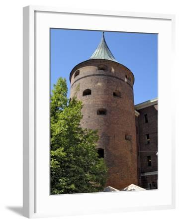 Powder Tower, Riga, Latvia, Baltic States-Gary Cook-Framed Photographic Print