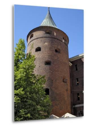 Powder Tower, Riga, Latvia, Baltic States-Gary Cook-Metal Print