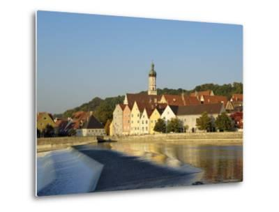 Landsberg Am Lech, Bavaria (Bayern), Germany-Gary Cook-Metal Print