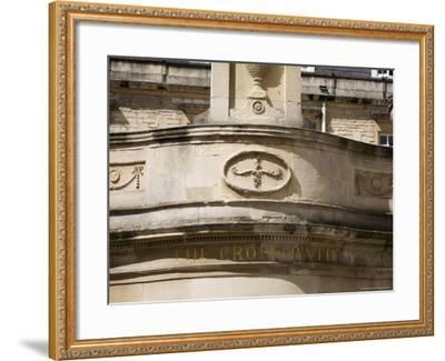 Thermae Bath Spa, Bath, Avon, England, United Kingdom-Matthew Davison-Framed Photographic Print