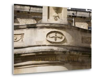 Thermae Bath Spa, Bath, Avon, England, United Kingdom-Matthew Davison-Metal Print