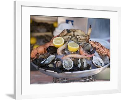 Seafood, Nice, Alpes Maritimes, Provence, Cote d'Azur, French Riviera, France-Angelo Cavalli-Framed Photographic Print