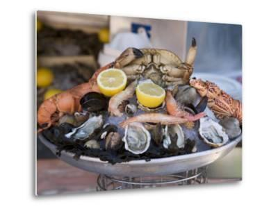 Seafood, Nice, Alpes Maritimes, Provence, Cote d'Azur, French Riviera, France-Angelo Cavalli-Metal Print