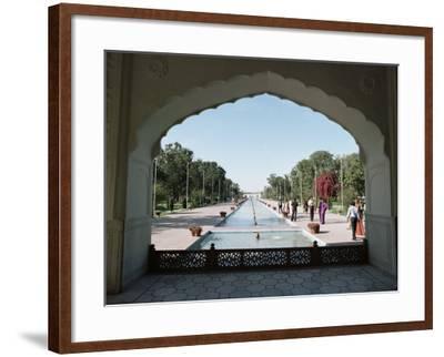 Shalimar Gardens, Unesco World Heritage Site, Lahore, Punjab, Pakistan-Robert Harding-Framed Photographic Print