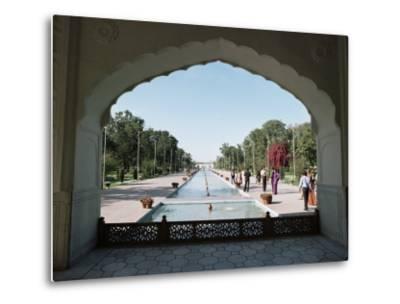 Shalimar Gardens, Unesco World Heritage Site, Lahore, Punjab, Pakistan-Robert Harding-Metal Print