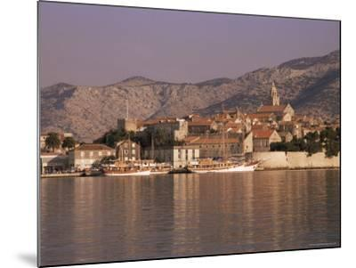 Korcula Old Town, Korcula Island, Dalmatia, Croatia-Peter Higgins-Mounted Photographic Print