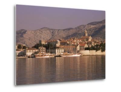 Korcula Old Town, Korcula Island, Dalmatia, Croatia-Peter Higgins-Metal Print