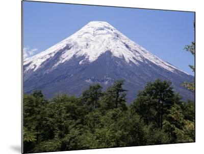Mount Osorno, a Volcano in Vicente Rosales National Park, Lake District, Chile, South America-Ken Gillham-Mounted Photographic Print