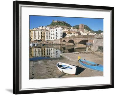 River Temo, Bosa, Nuoro Province, Sardinia, Italy-Ken Gillham-Framed Photographic Print