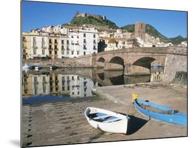 River Temo, Bosa, Nuoro Province, Sardinia, Italy-Ken Gillham-Mounted Photographic Print