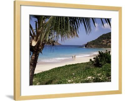 Beach at Anse Des Flamands, St. Barthelemy, West Indies, Central America-Ken Gillham-Framed Photographic Print