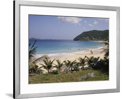 Beach at Anse Des Flamands, St. Barthelemy, Lesser Antilles, Caribbean, Central America-Ken Gillham-Framed Photographic Print