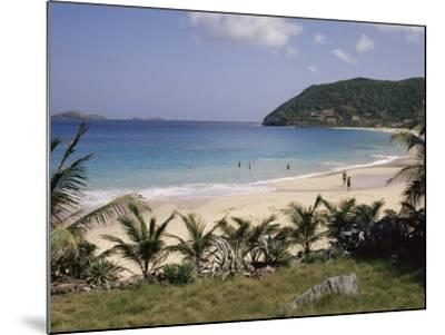 Beach at Anse Des Flamands, St. Barthelemy, Lesser Antilles, Caribbean, Central America-Ken Gillham-Mounted Photographic Print
