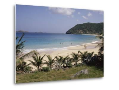 Beach at Anse Des Flamands, St. Barthelemy, Lesser Antilles, Caribbean, Central America-Ken Gillham-Metal Print