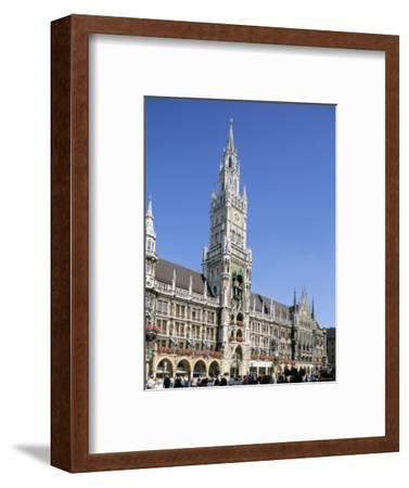 Town Hall, Munich, Bavaria, Germany-Peter Scholey-Framed Photographic Print
