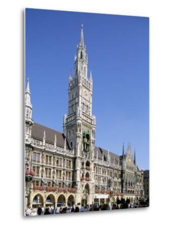 Town Hall, Munich, Bavaria, Germany-Peter Scholey-Metal Print
