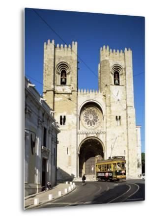 The Romanesque Style Se (Cathedral), Lisbon, Portugal-Peter Scholey-Metal Print