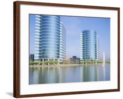 Redwood City, Silicon Valley, Near San Francisco, California, USA-David Lomax-Framed Photographic Print
