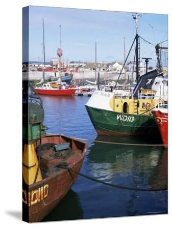Kilmore Quay, Near Rosslare, County Wexford, Leinster, Eire (Republic of Ireland)-David Lomax-Stretched Canvas Print
