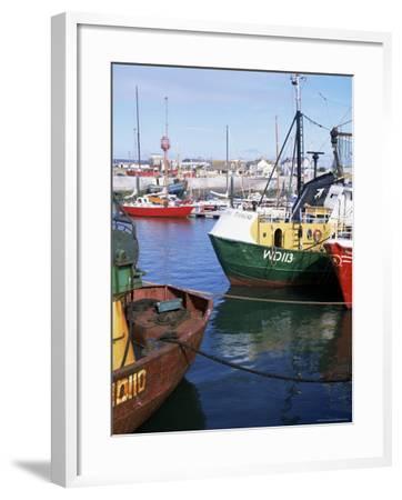 Kilmore Quay, Near Rosslare, County Wexford, Leinster, Eire (Republic of Ireland)-David Lomax-Framed Photographic Print