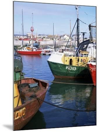 Kilmore Quay, Near Rosslare, County Wexford, Leinster, Eire (Republic of Ireland)-David Lomax-Mounted Photographic Print