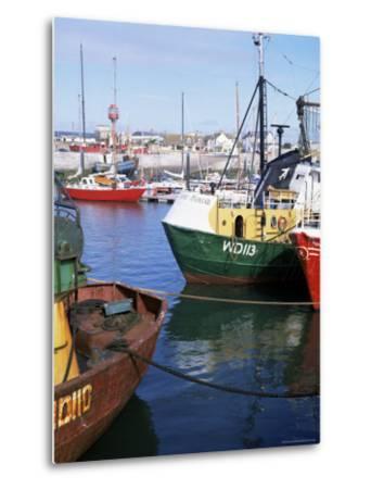 Kilmore Quay, Near Rosslare, County Wexford, Leinster, Eire (Republic of Ireland)-David Lomax-Metal Print