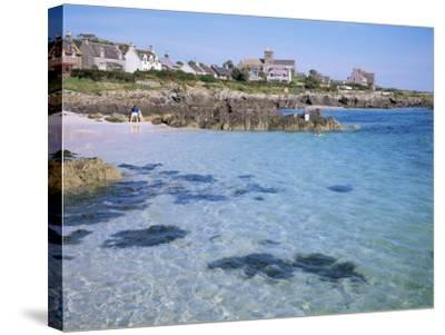Island of Iona, Strathclyde, Scotland, United Kingdom-David Lomax-Stretched Canvas Print