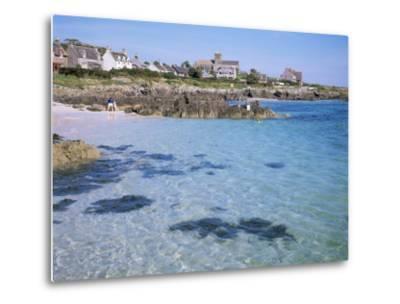 Island of Iona, Strathclyde, Scotland, United Kingdom-David Lomax-Metal Print