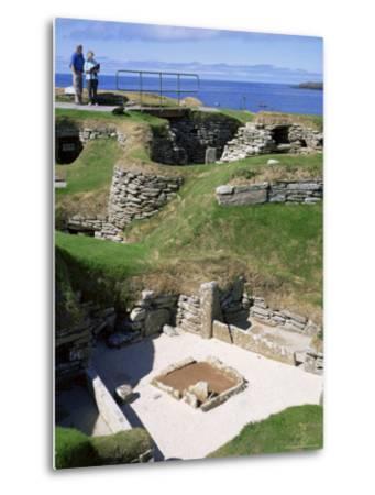 Skara Brae, Mainland, Orkneys, Scotland, United Kingdom-David Lomax-Metal Print