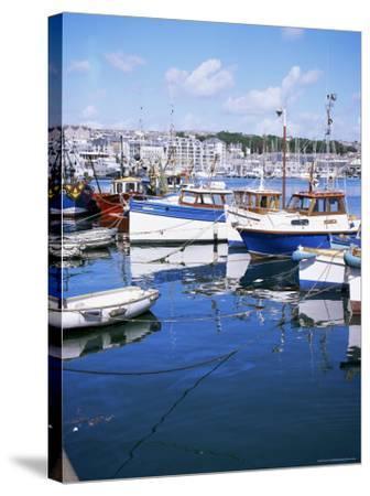 Barbican, Plymouth, Devon, England, United Kingdom-David Lomax-Stretched Canvas Print