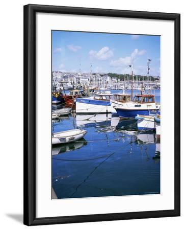 Barbican, Plymouth, Devon, England, United Kingdom-David Lomax-Framed Photographic Print