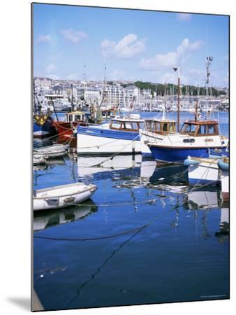 Barbican, Plymouth, Devon, England, United Kingdom-David Lomax-Mounted Photographic Print