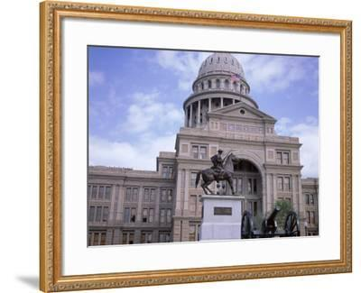 Exterior of State Capitol Building, Austin, Texas, United States of America (Usa), North America-David Lomax-Framed Photographic Print
