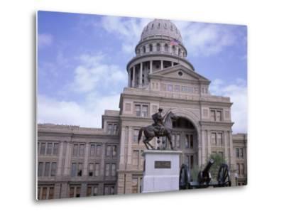 Exterior of State Capitol Building, Austin, Texas, United States of America (Usa), North America-David Lomax-Metal Print