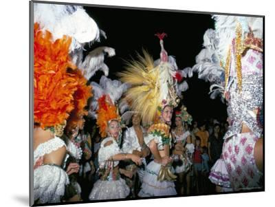 Carnival, Corrientes, Northern Argentina, Argentina, South America-Walter Rawlings-Mounted Photographic Print