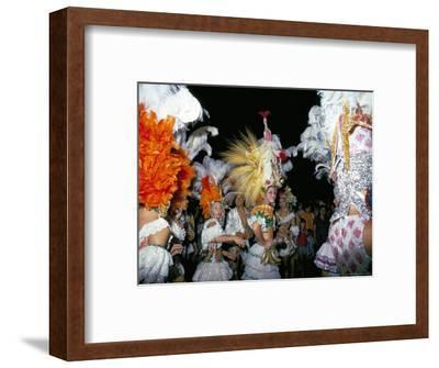 Carnival, Corrientes, Northern Argentina, Argentina, South America-Walter Rawlings-Framed Photographic Print