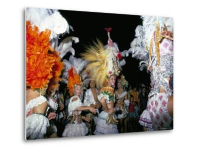 Carnival, Corrientes, Northern Argentina, Argentina, South America-Walter Rawlings-Metal Print