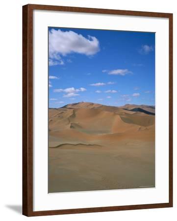 Sossusvlei Sand Dunes, Namib Naukluft Park, Namibia, Africa-Geoff Renner-Framed Photographic Print