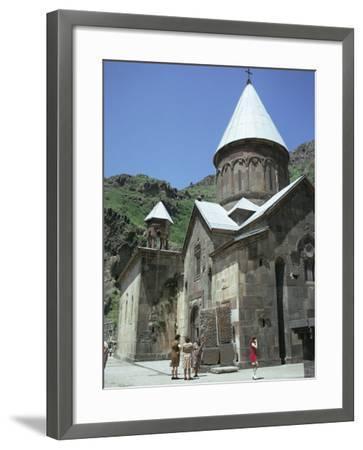 Geghard Monastery, Unesco World Heritage Site, Armenia, Central Asia-Sybil Sassoon-Framed Photographic Print
