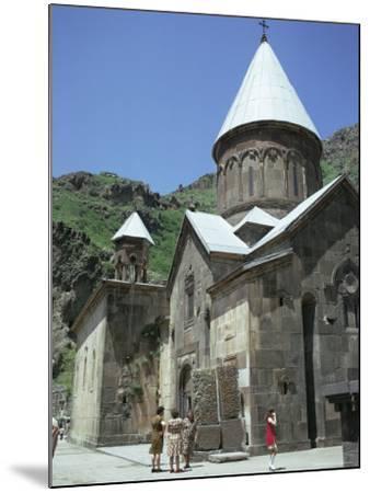 Geghard Monastery, Unesco World Heritage Site, Armenia, Central Asia-Sybil Sassoon-Mounted Photographic Print